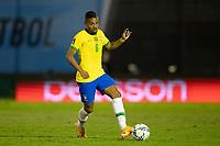 17th November 2020; Centenario Stadium, Montevideo, Uruguay; Fifa World Cup 2022 Qualifying football; Uruguay versus Brazil; Renan Lodi of Brazil