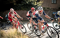 Edward Theuns (BEL/Trek-Segafredo)<br /> <br /> 60th De Brabantse Pijl 2020 - La Flèche Brabançonne (1.Pro)<br /> 1 day race from Leuven to Overijse (BEL/197km)<br /> <br /> ©kramon