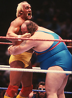 Earthquake Hulk Hogan 1990                                     Photo By John Barrett/PHOTOlink