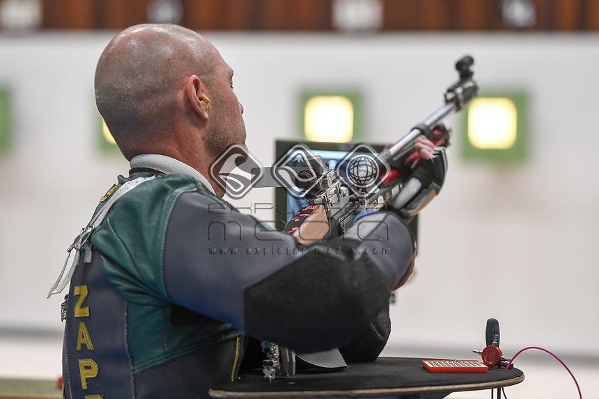Tokyo 2020 - shooting / Anton Zappelli<br /> 2019 World Shooting Para Sport Champions <br /> Sydney International Shooting Centre<br /> Saturday 12 Oct 2019 Paralympics Australia<br /> © STL / Jeff Crow / Paralympics Australia
