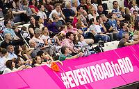 Supporters<br /> London, Queen Elizabeth II Olympic Park Pool <br /> LEN 2016 European Aquatics Elite Championships <br /> Swimming<br /> Men's 50m freestyle preliminary<br /> Day 13 21-05-2016<br /> Photo Giorgio Perottino/Deepbluemedia/Insidefoto