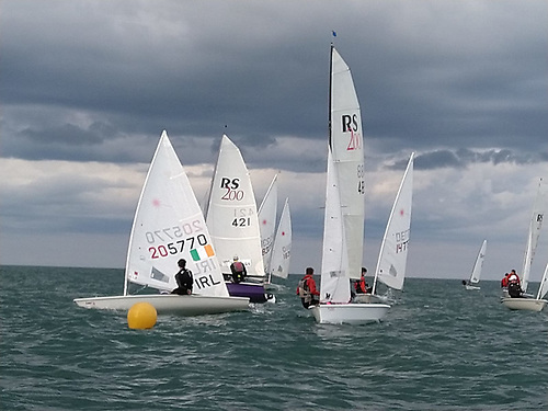 Dinghy sailing at Greystones Sailing Club this summer