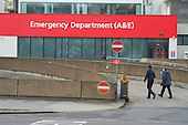 Accident & Emergency department, St Thomas' Hospital, London