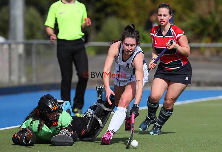 Napier Girls College v St Marys College. Federation Cup Hockey, Lloyd Elsmore Park, Auckland, New Zealand, Monday 2 September 2019. Photo: Simon Watts/www.bwmedia.co.nz/HockeyNZ