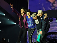 The Rolling Stones @<br /> U Arena 22 Octobre 2017-<br /> FRANCE<br /> © GUINO/ DALLE<br /> --<br /> the encore  from crowd  after  the 2  authorized songs