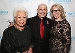 "Joy Abbott, Jonathan Cerullo and Laura Penn during The ""Mr. Abbott"" Award 2019 at The Metropolitan Club on 3/25/2019 in New York City."