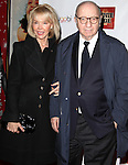 Elaine Joyce & Neil Simon.arriving for the Opening Night Performance of 'Bonnie & Clyde' at the Gerald Schoenfeld Theatre in New York City.