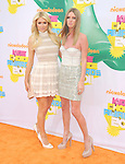 Nicky Hilton and Paris Hilton attends The 24th Annual Kids' Choice Awards held at USC's Galen Center in Los Angeles, California on April 02,2011                                                                               © 2010 DVS / Hollywood Press Agency