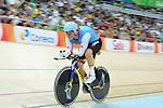 Ross Wilson, Rio 2016 - Para Cycling // Paracyclisme.<br /> Ross Wilson wins silver in the Para-Cycling qualification 3000m individual pursuit final - C1 // Ross Wilson remporte l'argent dans la qualification paracyclisme 3000m finale individuelle de poursuite C1. 09/09/2016.
