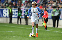 Harrison, N.J. - Sunday March 04, 2018: Megan Rapinoe during a 2018 SheBelieves Cup match between the women's national teams of the United States (USA) and France (FRA) at Red Bull Arena.