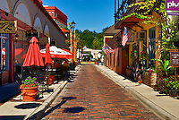 Aviles Street the oldest platted street in the United States is located  in historic downtown St. Augustine, Florida