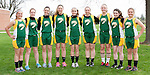 April 24, 2014- Tuscola, IL- The Hornet 8th Grade Girls Track team. From left are Morgan Stewart, Ashtyn Clark, Kameryn Kresin, Briannia Thull, Ellen Brown, Emily Lambrecht, Alexis Koester, and Machenzie Stewart. [Photo: Douglas Cottle]