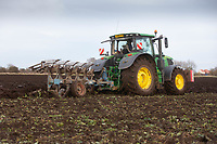 11/1/2021 Ploughing land following sugar beet in Cambridgeshire <br /> ©Tim Scrivener Photographer 07850 303986<br />      ....Covering Agriculture In The UK....