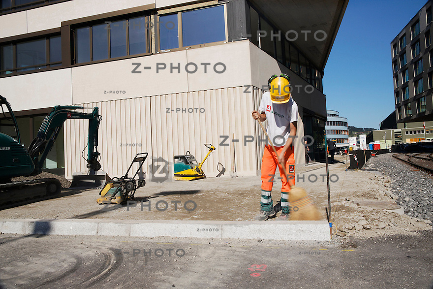 Gebaede Aussenaufnahmen der Citybay in Luzern am 12. September 2011..Copyright © Zvonimir Pisonic