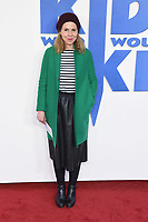 """Sally Phillips<br /> arriving for the premiere of """"The Kiid who would be King"""" at the Odeon Luxe cinema, Leicester Square, London<br /> <br /> ©Ash Knotek  D3476  03/02/2019"""