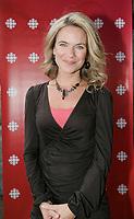 Montreal (Qc) CANADA, August 22, 2007 - <br /> Annie Brocolie<br />  Lancement Radio Canada automne 2007<br /> <br /> <br /> PHOTO :  Agence Quebec Presse