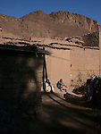 Local women at the oasis at Fint in Morocco.