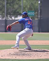 Richard Gallardo - Chicago Cubs 2021 spring training (Bill Mitchell)