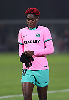 Asisat Oshoala (20 Barcelona) pictured during a female soccer game between PSV Eindhoven Vrouwen and Barcelona, in the round of 32, 1st leg of Uefa Womens Champions League of the 2020 - 2021 season , Wednesday 9th of December 2020  in , Eindhoven, the Netherlands. PHOTO SPORTPIX.BE | SPP | SEVIL OKTEM