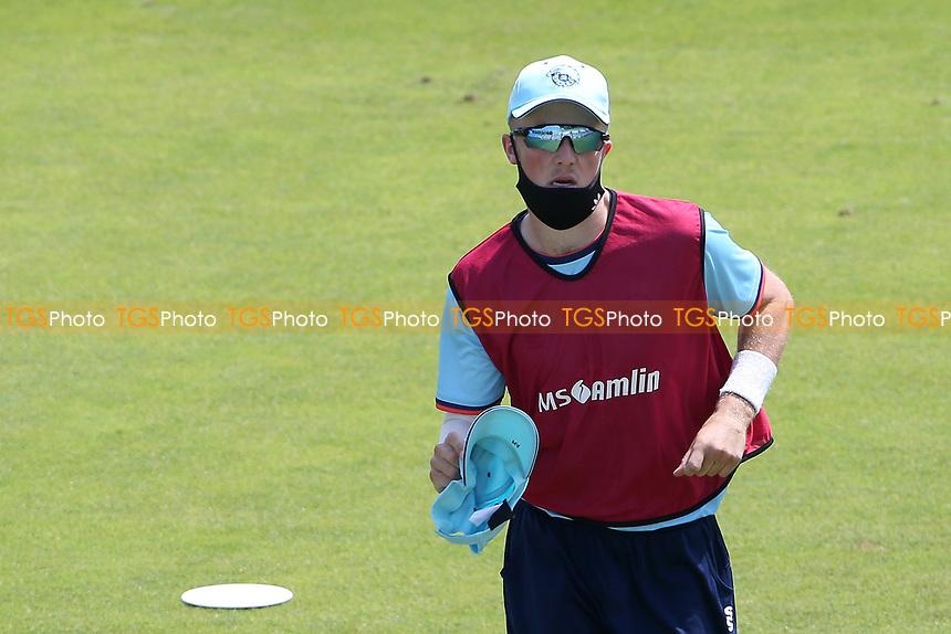 Essex twelfth man Ben Allison during Hampshire Hawks vs Essex Eagles, Royal London One-Day Cup Cricket at The Ageas Bowl on 22nd July 2021