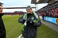 Toronto, Ontario - Saturday December 09, 2017: Toronto FC defeated the Seattle Sounders FC 2-0 in MLS Cup 2017, Major League Soccer's (MLS) championship game played at BMO Field.