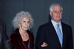 09.10.2012. Duchess of Alba Cayetana Martinez de Irujo and Carlos Juan Fitz-James Stuart attend concert in Ainhoa Arteta at the Teatros del Canal in Madrid, Spain. In the image Cayetana Martinez de Irujo and Carlos Juan Fitz-James Stuart (Alterphotos/Marta Gonzalez)