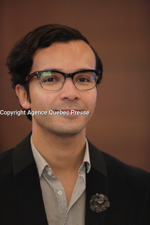 Gabriel Bran Lopez<br /> , President de la JCCM<br />  en 2106.<br /> <br /> PHOTO : Pierre Roussel -  Agence Quebec Presse