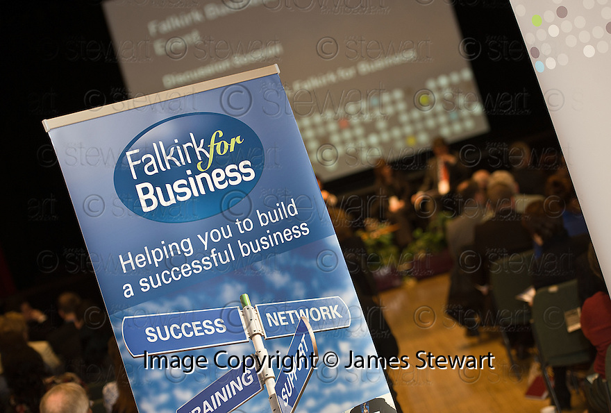 The Falkirk Business Panel Update Event 2012, Falkirk Town Hall...