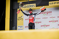 most combative rider Brent Van Moer (BEL/Lotto Soudal)<br /> <br /> Stage 4 from Redon to Fougiéres (150.4km)<br /> 108th Tour de France 2021 (2.UWT)<br /> <br /> ©kramon