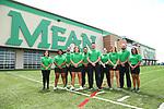 DENTON, TX - August 3: North Texas Mean Green Football at Apogee Stadium at of  University North Texas on August 3, 2020 in Denton, Texas.