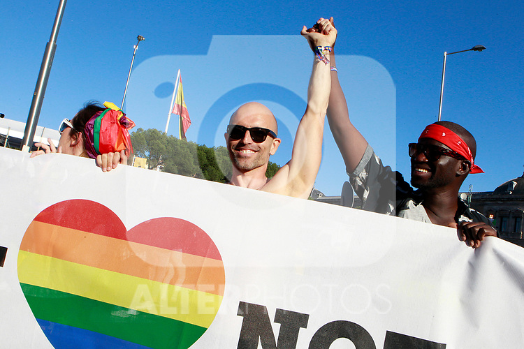 Demonstration of World Pride Madrid 2017. July 1, 2017. (ALTERPHOTOS/Acero)