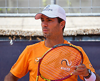 Austria, Kitzbuhel, Juli 15, 2015, Tennis, Davis Cup, Training Dutch team, Jean-Julien Rojer<br /> Photo: Tennisimages/Henk Koster