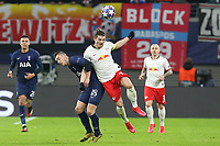 Marcel Sabitzer of RB Leipzig and Giovani Lo Celso of Tottenham Hotspur during RB Leipzig vs Tottenham Hotspur, UEFA Champions League Football at the Red Bull Arena on 10th March 2020