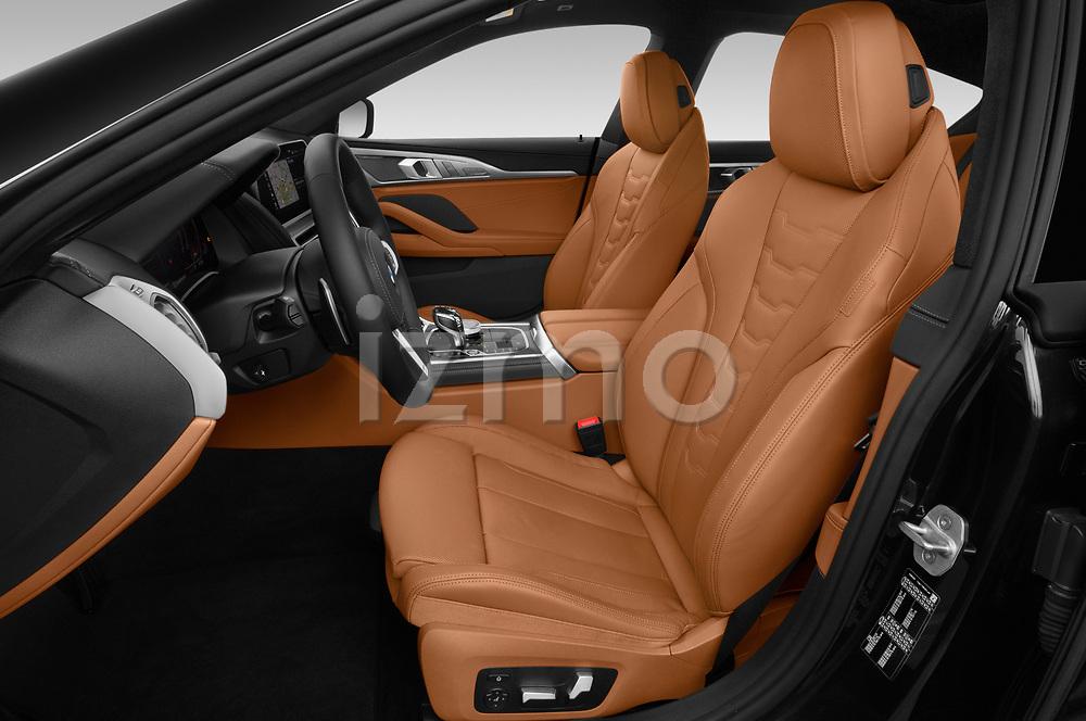 Front seat view of a 2019 BMW 8 Series Basis 4 Door Sedan front seat car photos