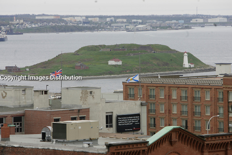 Halifax (NS) CANADA, June 1, 2007 -<br /> <br /> The island where Acadians were rounded up before deportation<br /> <br />     photo by Pierre Roussel - Images Distribution