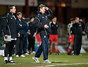 23/03/2010 Copyright  Pic : James Stewart.sct_jspa09_gordon_chisholm  .::  DUNDEE MANAGER GORDON CHISHOLM AND ASSISTANT BILLY DODDS  ::  .James Stewart Photography 19 Carronlea Drive, Falkirk. FK2 8DN      Vat Reg No. 607 6932 25.Telephone      : +44 (0)1324 570291 .Mobile              : +44 (0)7721 416997.E-mail  :  jim@jspa.co.uk.If you require further information then contact Jim Stewart on any of the numbers above.........
