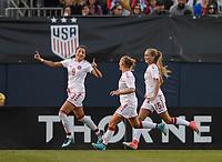 San Diego, Ca - Sunday, January 21, 2018: Nadia Nadim  during a USWNT 5-1 victory over Denmark at SDCCU Stadium.
