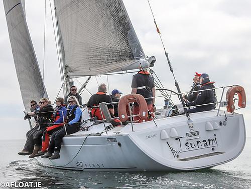 ISORA race training on the Beneteau 40.7 Tsunami
