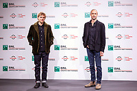 ActorJohnny Flynn and Director Gabriel Range poses for photographers for the photo call of the film Stardust during the 15th edition of Rome film Fest.<br /> Rome (Italy), 16/10/2020<br /> Photo Pool Insidefoto