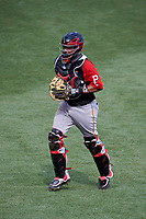 World Team catcher Elias Diaz (29) during the MLB All-Star Futures Game on July 12, 2015 at Great American Ball Park in Cincinnati, Ohio.  (Mike Janes/Four Seam Images)
