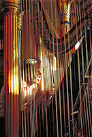 Bob Leightoner is collects and repairs musical instruments.