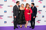 """Colin Firth, Renée Zellweger, the director of the film Sharon Maguire and Patrick Dempsey attends to the premiere of """"Bridget Jones, Baby"""" at Kinepolis in Madrid. September 09, Spain. 2016. (ALTERPHOTOS/BorjaB.Hojas)"""