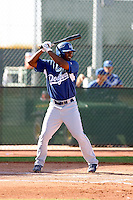 Jonathan Garcia - Los Angeles Dodgers, 2009 Instructional League.Photo by:  Bill Mitchell/Four Seam Images..