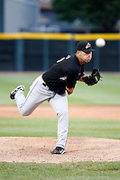May 30, 2009:  Pitcher Zach Putnam of the Akron Aeros delivers a pitch during a game at Jerry Uht Park in Erie, PA.  The Aeros are the Double-A Eastern League affiliate of the Cleveland Indians.  Photo By Mike Janes/Four Seam Images