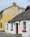 County Clare, Ireland:<br /> Shop front on a Doolin village street