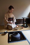 Japan, West Honshu, Kansai, Kyoto: Japanese Tea Ceremony | Japan, West-Honshu, Kansai, Kyoto: japanische Teezeremonie