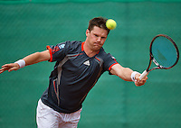 August 17, 2014, Netherlands, Raalte, TV Ramele, Tennis, National Championships, NRTK,  Mens final: Nick van der Meer (NED)<br /> Photo: Tennisimages/Henk Koster