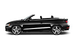 Car driver side profile view of a 2015 Audi A3 1.8 Premium Plus  2 Door Convertible