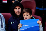FC Barcelona's Leo Messi during La Liga match between FC Barcelona and Real Madrid at Camp Nou Stadium in Barcelona, Spain. October 28, 2018. (ALTERPHOTOS/A. Perez Meca)
