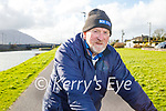 JP McCarthy enjoying a cycle in Blennerville on Tuesday.